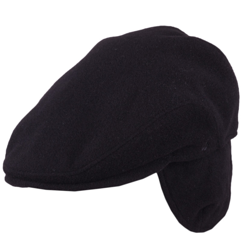 dc6b9d7ad Pánská zimní bekovka černá s naušníky Assante 85230