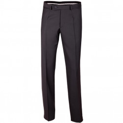 Nadměrné pánské černé společenské kalhoty Assante 60504