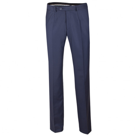 Nadměrné pánské modré společenské kalhoty na výšku 176 – 182 cm Assante 60524
