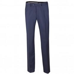 Nadměrné prodloužené pánské společenské kalhoty modré na výšku 182 – 188 cm Assante 60525