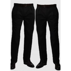 Černé extra prodloužené pánské splečenské kalhoty na výšku 188 – 194 cm Falkom 160103