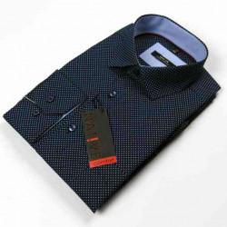 Nadměrná pánská košile modrá dlouhý rukáv Native 120500