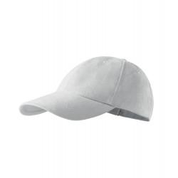 Bílá baseballová kšiltovka 100 % bavlna Adler 81163