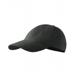 Tmavošedá baseballová čepice 100 % bavlna Adler 81164