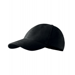 Černá baseballová kšiltovka 100 % bavlna Adler 81165