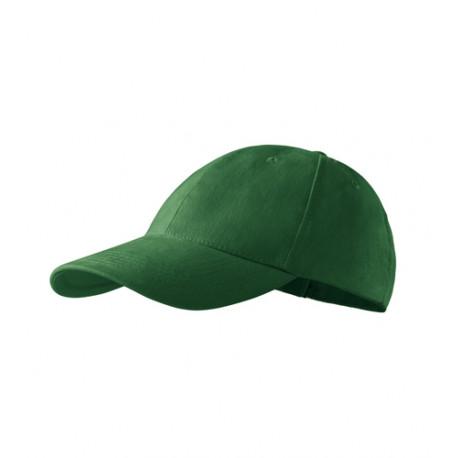Lahvově zelená baseballová kšiltovka 100 % bavlna Adler 81169
