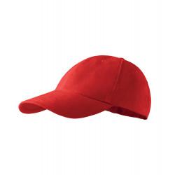 Červená baseballová čepice 100 % bavlna Adler 81189
