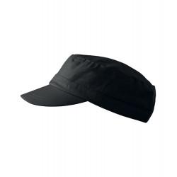 Černá čepice vojenského stylu Adler 81176