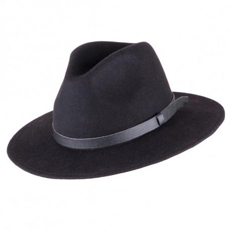 01b7873c69c Černý pánský klobouk Assante 85003