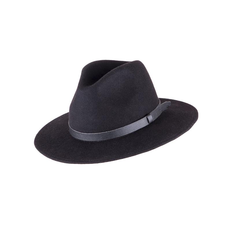 282c86a18ef Černý pánský klobouk Assante 85003