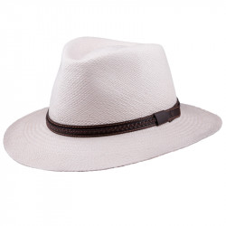 Smetanový letní Panama klobouk Assante 8100