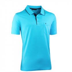 Jasně modrá pánská polokošile Tony Montana 45001