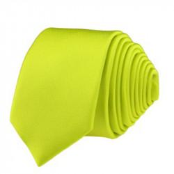 Signální zelená kravata slim fit Romendik 99152