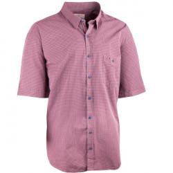 Nadměrná košile 100 % bavlna červenošedá Tonelli 110829