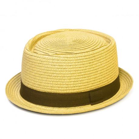Letní klobouk barva béžová Assante 161243