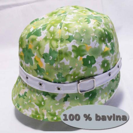 Zelená dámská čepice Assante 83102