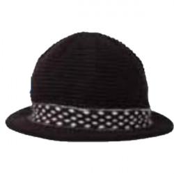Černý klobouk dámský Pletex 87586