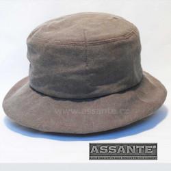 Hnědý elegantní dámský klobouk Assante 82919
