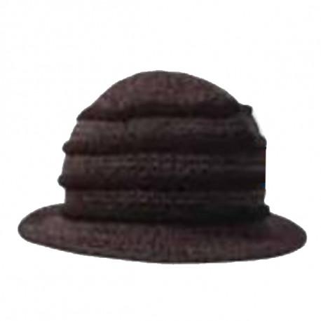 Černý klobouk dámský Pletex 87588 fe91d095f0