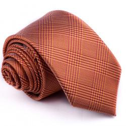 Úzká oranžová kravata Greg 99702