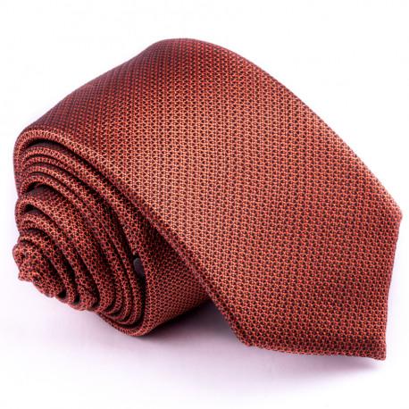 c5362743c48 Oranžová slim fit kravata Greg 99704