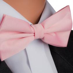 Pánský motýlek růžový Assante 90380