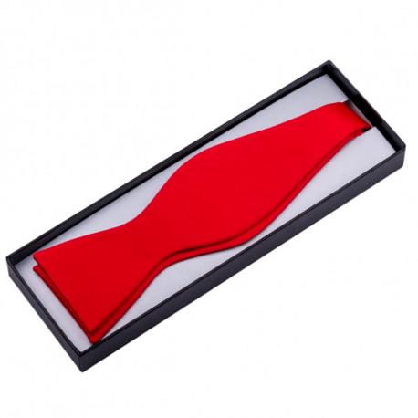 Červený vázací motýlek Assante 90354
