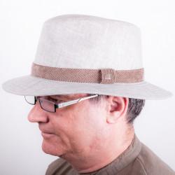 Béžový pánský letní klobouk Assante 81020