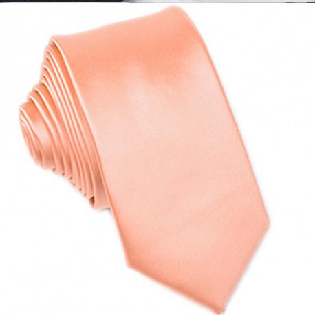 Lososová kravata slim fit Greg 99176
