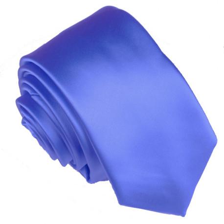 Modrá kravata jednobarevná Greg 99947