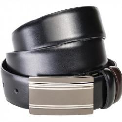 Černý pánský opasek Assante 90814