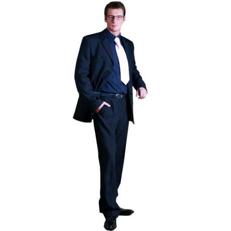 Modrý pánský oblek prodloužený na výšku 182 - 188 cm faVorite 160639 53127a5285