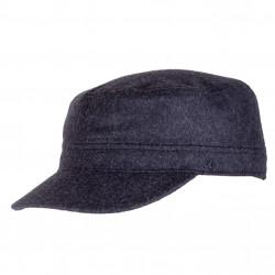 Černá fidelka pánská zimní čepice Assante 85311.
