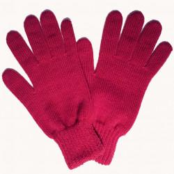 Růžové pletené dámské rukavice Assante 89754