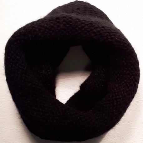 Černá šála,šál Pletex 89537