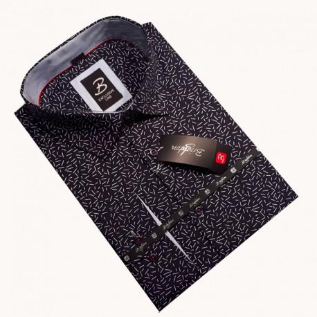 pánská košile dlouhý rukáv s podšitým límcem Brighton 110002