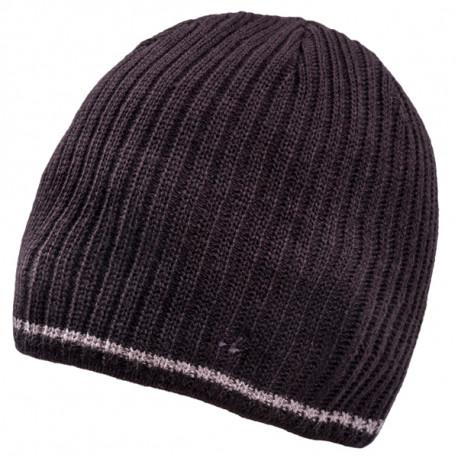 Černá pletená pánská čepice Assante 86003