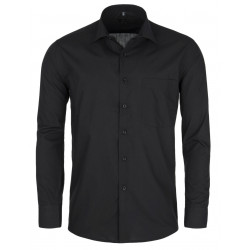 Prodloužená pánská košile černá Friends and Rebels 20102