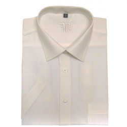 Šampaň pánská košile s krátkým rukávem rovná Friends and Rebels 40201