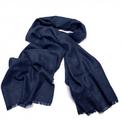 Modrá pánská šála Assante 89019
