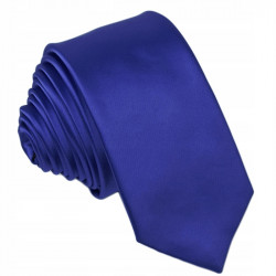 Slim fit pařížská modrá kravata Greg 99142