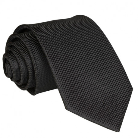 Černá kravata Greg 91050