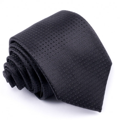 Černá kravata Rene Chagal 91011