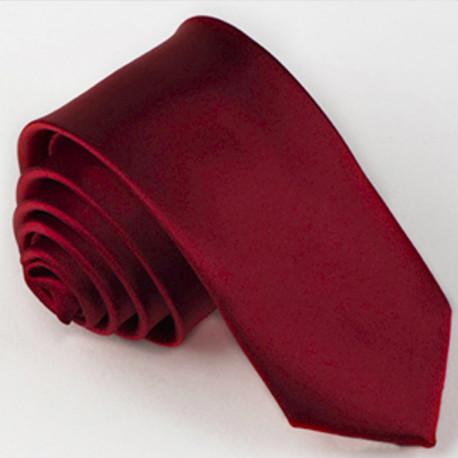 Vínově červená kravata Greg 99132