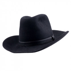 Černý kovbojský klobouk Mes 85027
