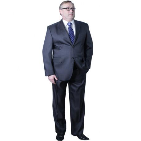 23e3186029e Nadměrný pánský oblek šedý 176 - 182 cm fa Vorite 160640