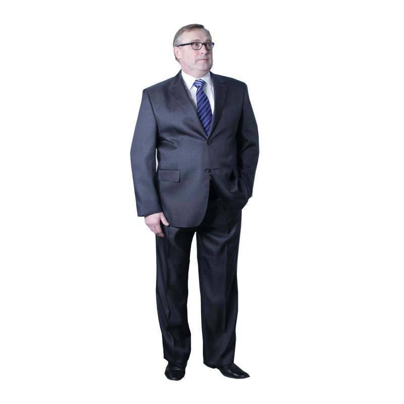 Nadměrný pánský oblek šedý 176 - 182 cm fa Vorite 160640 2189d4c474