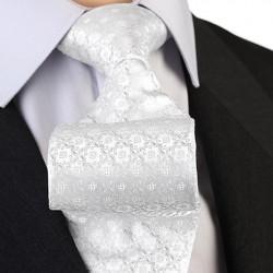 Svatební kravata stříbrná Greg 91206