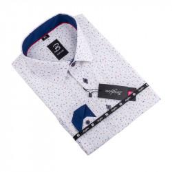 Košile Brighton bíločervenomodrá 109923