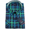 Modrozelená košile Tonelli 110837